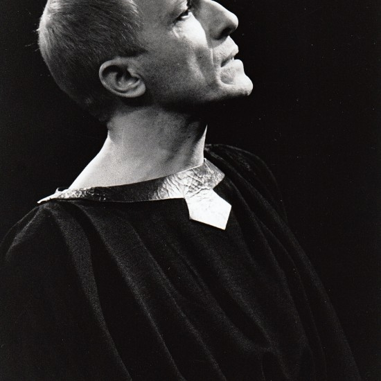 Bernard Pisani est Néron à l'Auditorium Saint-Germain-des-Prés