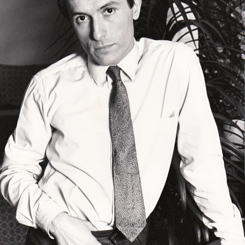 Bernard Pisani à la ville (Photo : Patrick Roche)
