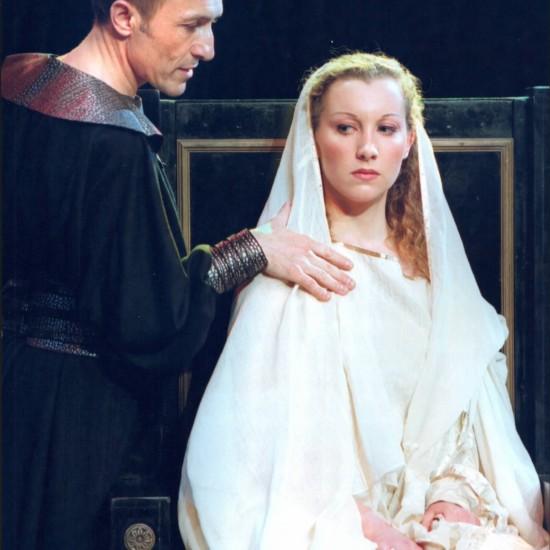 Britannicus mis en scène par Bernard Pisani (Auditorium Saint-Germain-des-Prés)