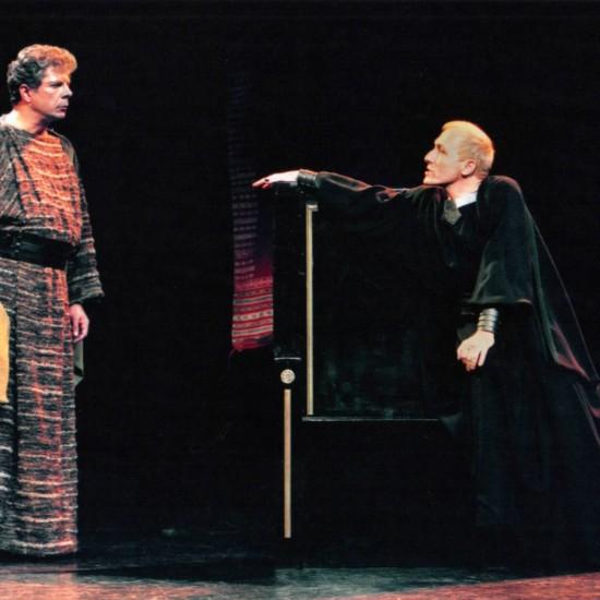 Britannicus mise en scène Bernard Pisani (Auditorium Saint-Germain-des-Prés)