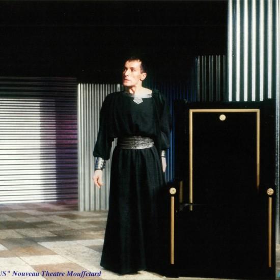 Britannicus au théâtre Mouffetard mise en scène Bernard Pisani
