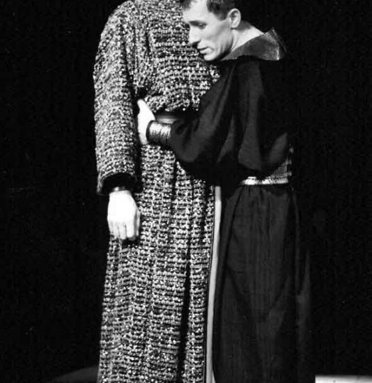 Britannicus mis en scène par Bernard Pisani (Théâtre Mouffetard)