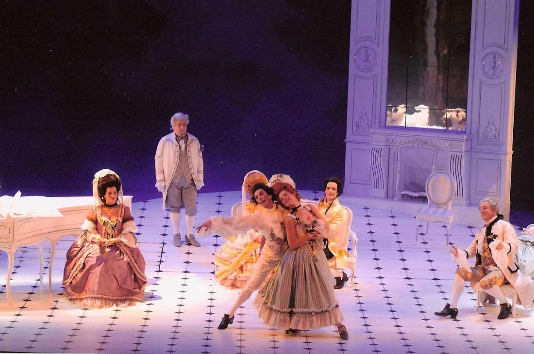 Mozart mis en scène par Bernard Pisani