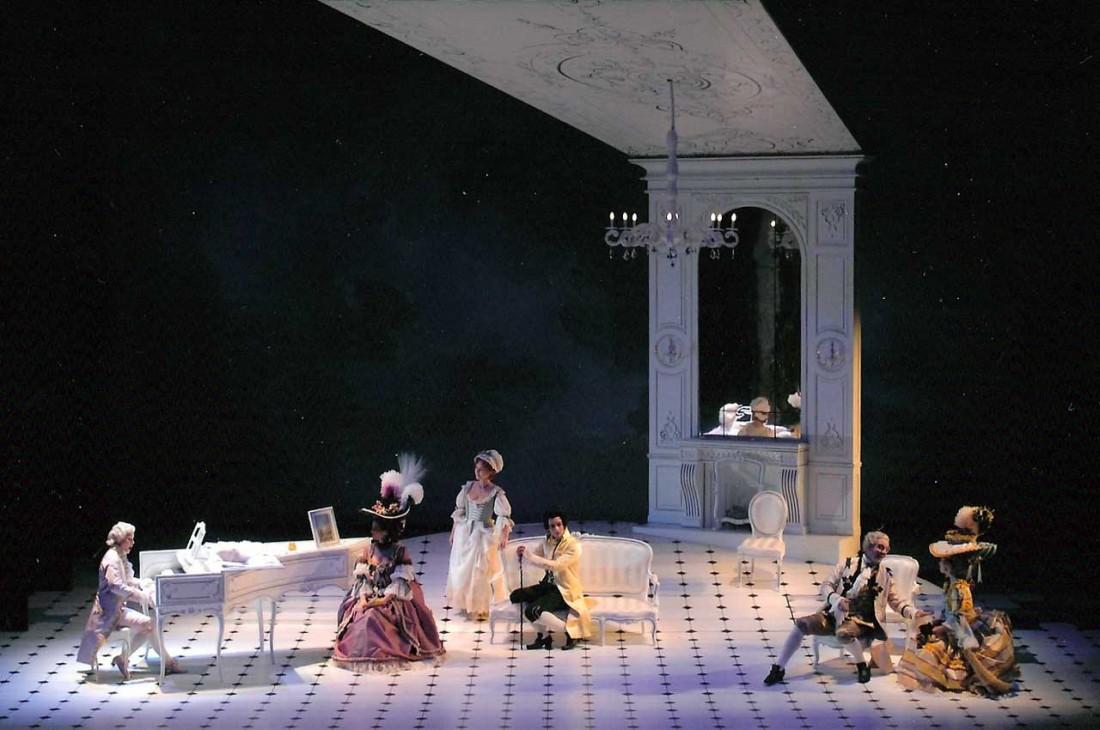Mozart à l'Opéra de Tours Photographie © François Berton