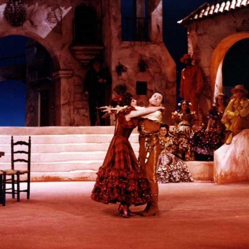 Dans Andalousie de Francis Lopez, mise en scène Antoine Bourseiller (Opéra de Nancy)