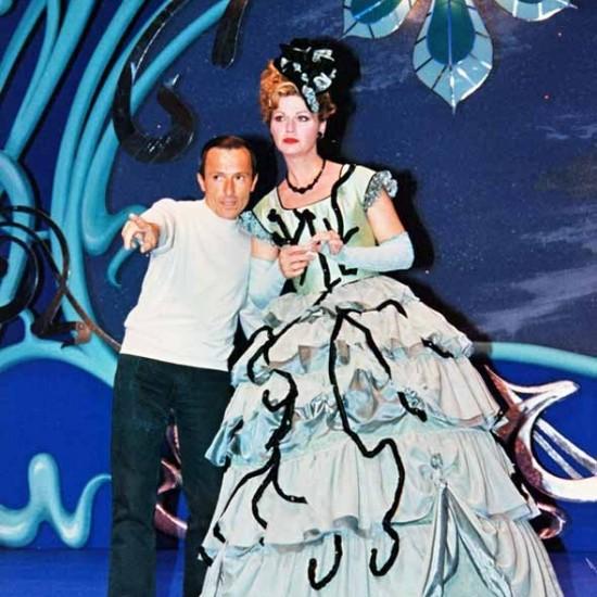 Bernard Pisani avec Jeane Manson (Trois valses) au Théâtre du Gymnase, Marseille